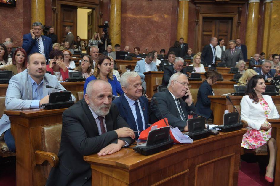 Poslanici o izboru predsednika sudova i sudija
