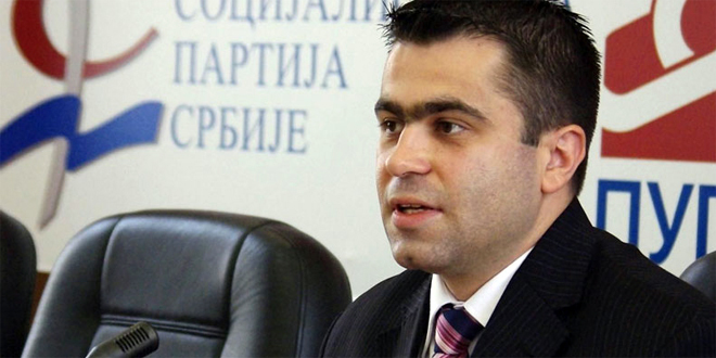 Posle udesa poslanik Đorđe Milićević (SPS) stabilno