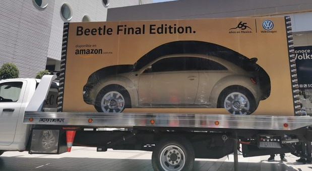 Poslednji primerci Volkswagen Bube prodati preko Amazona