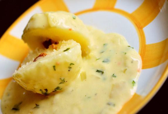 Posne knedle od krompira, odličan prilog uz ribu!