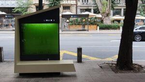 Postavljen prvi prečišćivač vazduha od algi u Srbiji