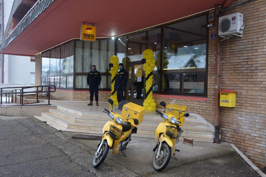 """Pošte Srpske"" kupile 50 neispravnih mopeda"
