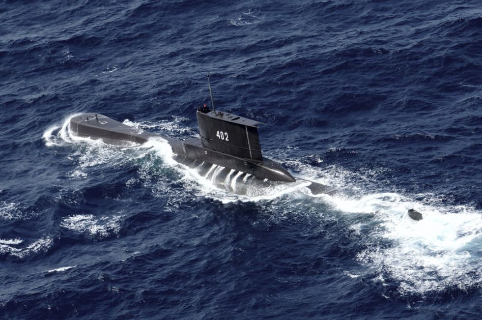 Potonula podmornica , suviše je duboko da bi bila izvučena