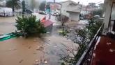 Potop u CG i Hrvatskoj: Voda na putevima, u školama VIDEO