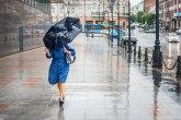 Potop u Kruševcu: Jak pljusak, padao i grad