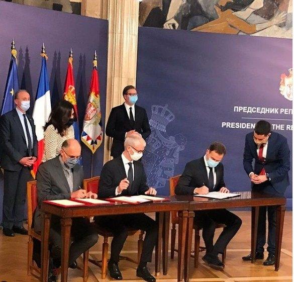 Potpisan Sporazum o saradnji između Srbije i Francuske; Mali: Izgradnja metroa krajem sledeće godine