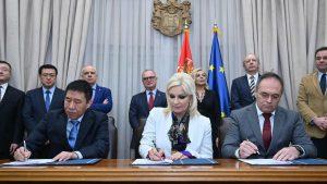 Potpisan sporazum sa kineskom kompanijom za projekat prečišćavanja otpadnih voda u Beogradu