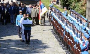 Potpredsednik Republike Indije položio venac na Spomenik neznanom junaku