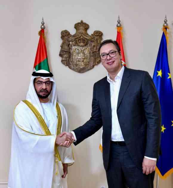 Potpredsednik UAE Vučiću: Veliko interesovanje za ulaganje u...