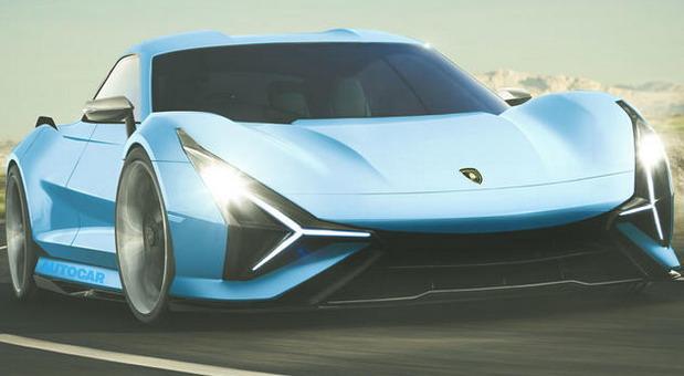 Potpuno električni Lamborghini grand tourer do 2025. godine