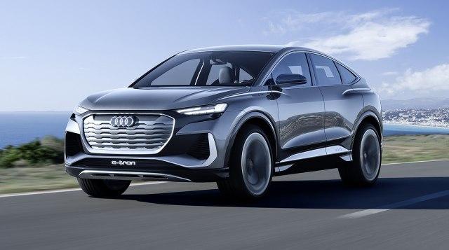 Potpuno u trendu: Audi predstavio novi električni kupe-krosover FOTO/VIDEO