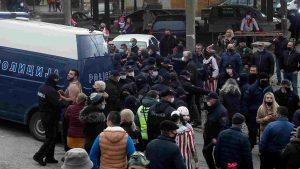 Potraga za osobom koja je zapalila bugarsku zastavu na Vevčanskom karnevalu