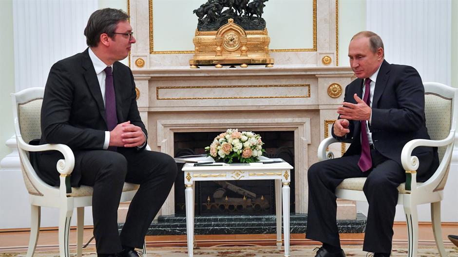 Potvrda iz Kremlja: Putin planira da poseti Srbiju u januaru