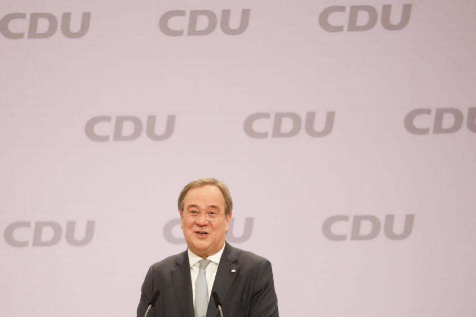 Potvrđen izbor Armina Lašeta za lidera CDU