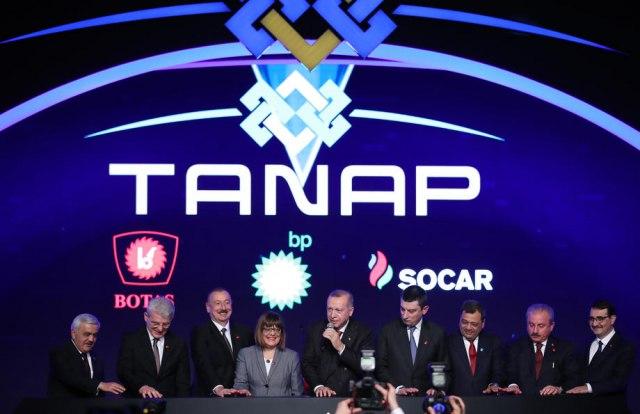 Povezani gasovodi TANAP i TAP