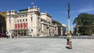 Povodom Svetskog dana muzike u ponedeljak koncert na otvorenom, ispred Narodnog pozorišta