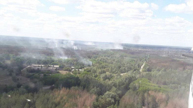 Požar kod Černobilja, radijacija otežala gašenje
