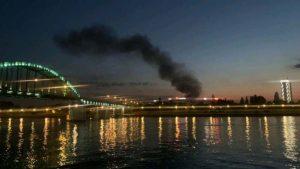 Lokalizovan požar na Novom Beogradu (VIDEO)