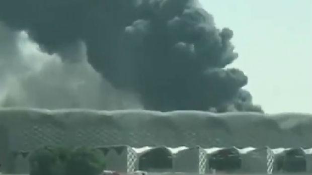 Požar na železničkoj stanici u Džedi, petoro povređenih