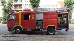 Požar u Maloj Moštanici, potraga za dvoje dece