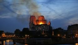 Požar u Notr damu najtvitovaniji dogadjaj godine