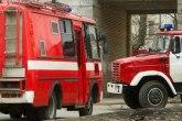 Požar u Prištini: Izgoreo krov kuće, nema povređenih