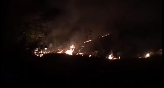 Požar u blizini manastira na Fruškoj gori