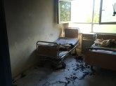 Požar u bolnici u Doboju, pacijenti gasili vatru  FOTO