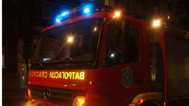 Požar u čačanskom selu, povređen muškarac