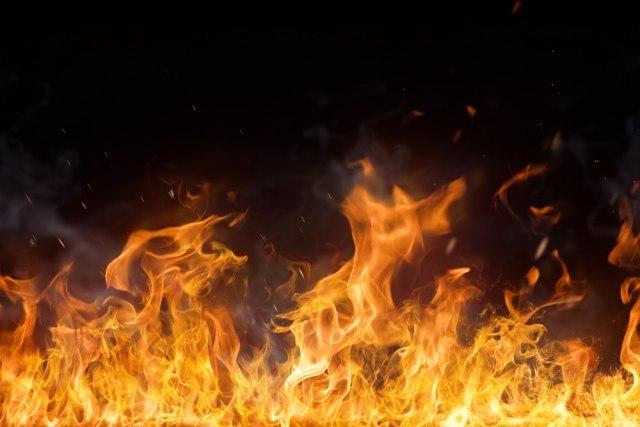 Požar u centru Beograda, šestoro povređenih