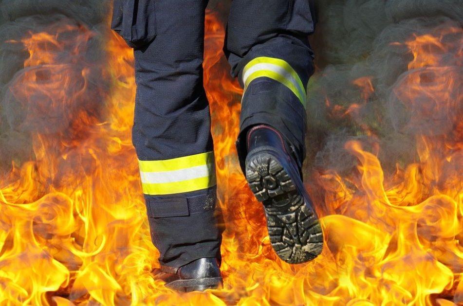 Požar u kruševačkoj fabrici, sprečena nesreća