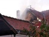 Požar u porodičnoj kući u Arilju: Vatra odnela krov i potkrovlje