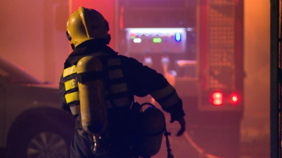 Požar u soliteru na Novom Beogradu, zapalio se stan