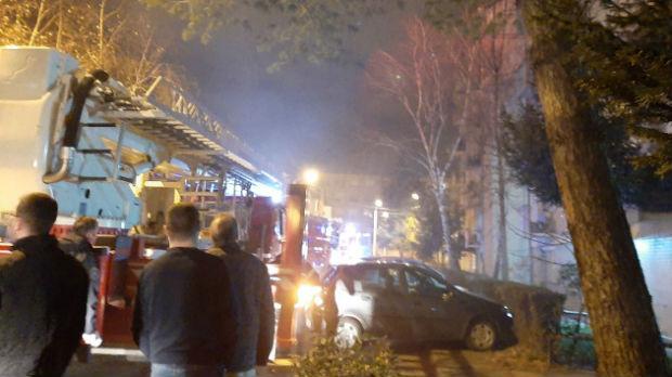 Požar u stambenoj zgradi u Nišu