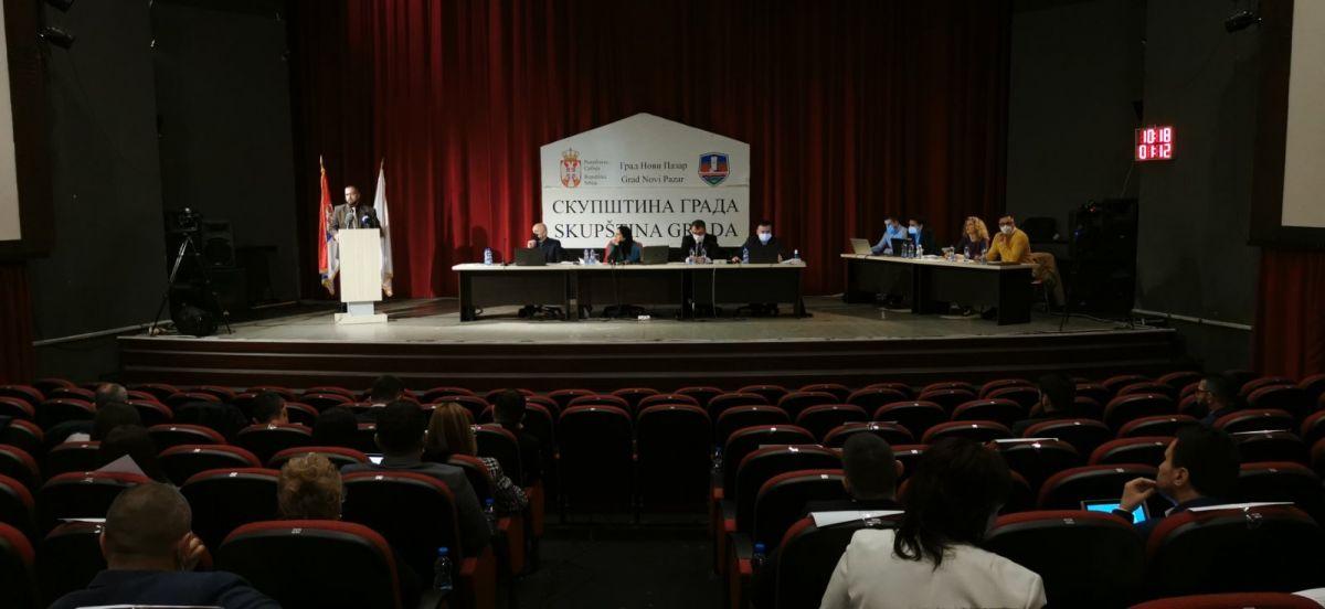Pratite uživo zasijedanje Skupštine grada Novog Pazara