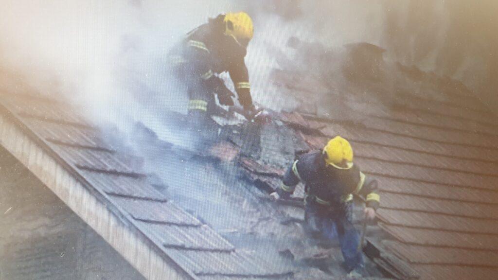 Pravovremenom intervencijom vatrogasaca sprečeno širenje požara