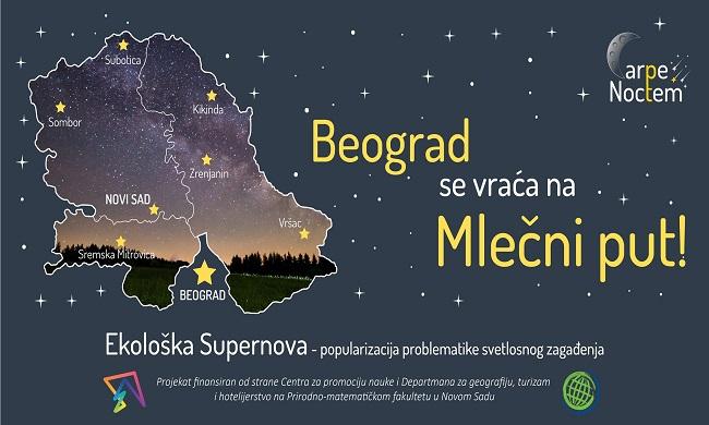 Predavanje: Beograd se vraća na Mlečni put