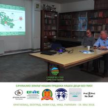 Predavanje: Zastitimo Srbiju od GMO (Akcija za slepe)