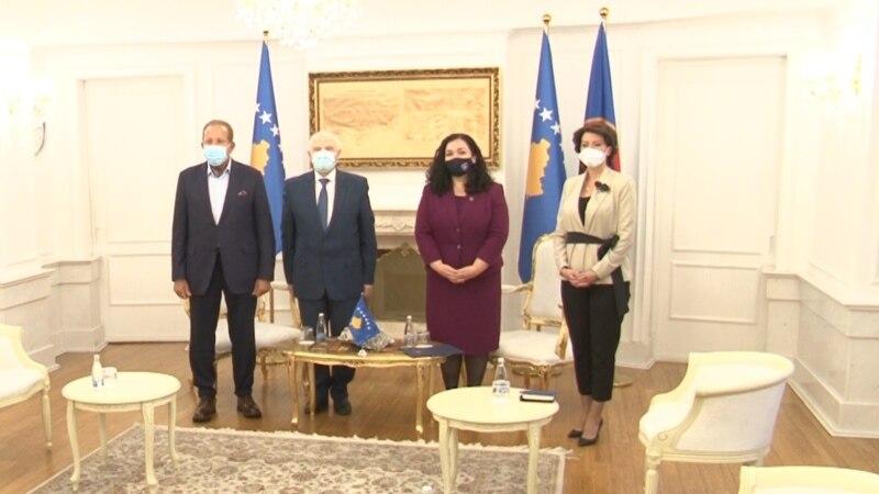 Predsednica Kosova primila svoje prethodnike