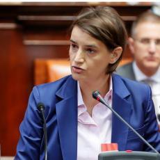 Predsednica Vlade Ana Brnabić vršilac dužnosti ministra finansija
