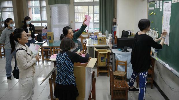 Predsednički izbori na Tajvanu