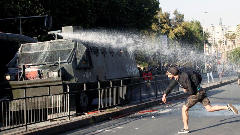 Predsednik Čilea proglasio vanredno stanje u Santjagu