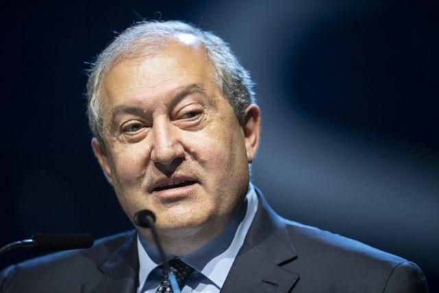 Predsednik Jermenije u zvaničnoj poseti Srbiji