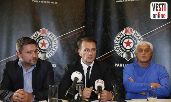 Predsednik KK Partizan vanredno se obraća javnosti