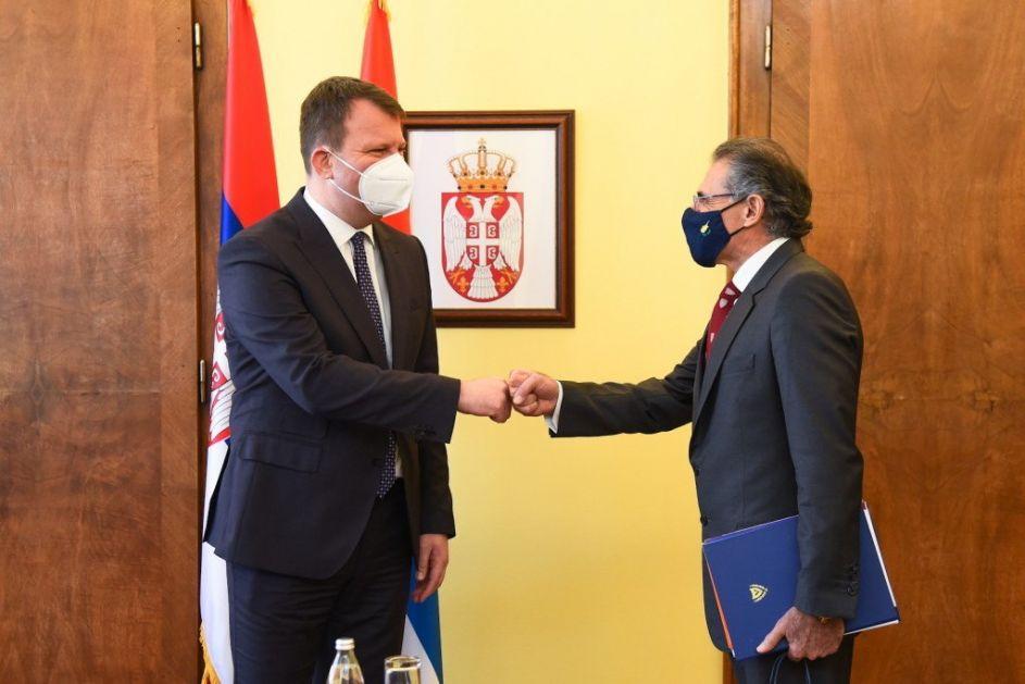 Predsednik Mirović se sastao sa ambasadorom Kipra
