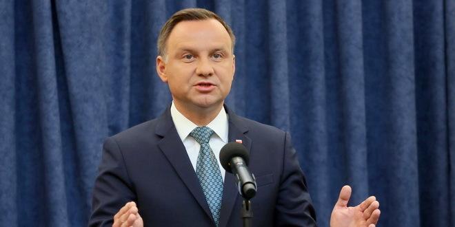 Predsednik Poljske pozitivan na korona virus