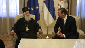 Predsednik Srbije razgovarao sa patrijarhom Irinejom