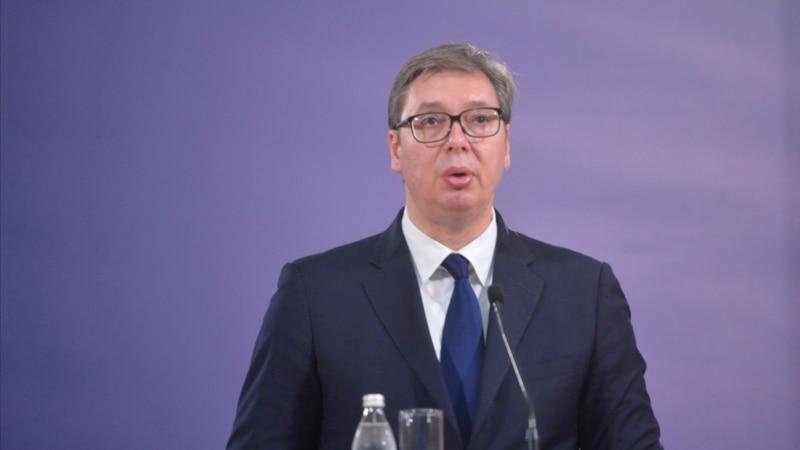 Predsednik Srbije Vučić najavio krivičnu prijavu protiv sebe