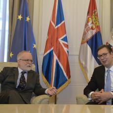 Predsednik Srbije i ambasador VB Denis Kif: Razgovarali o bilateralnim odnosima i situaciji u regionu