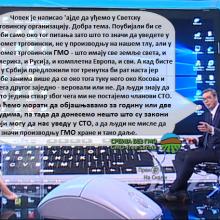 Predsednik Srbije o GMO, 1. septembar 2019.